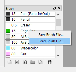 Firealpaca Marker Brush